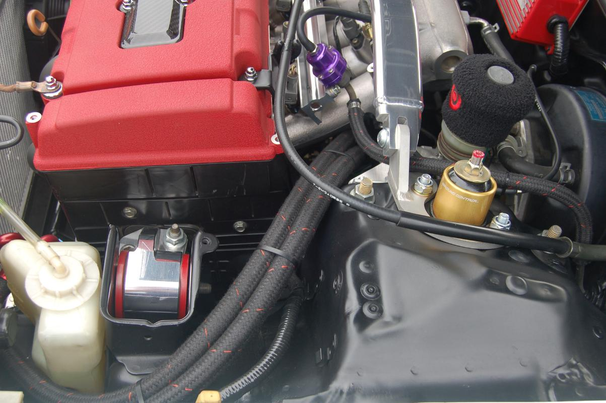 remote oil cooler and AC re-installation