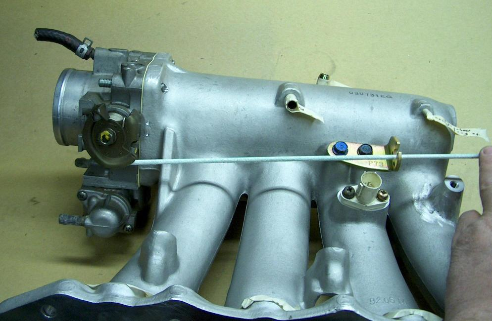 Skunk 2 intake manifold on GSR head